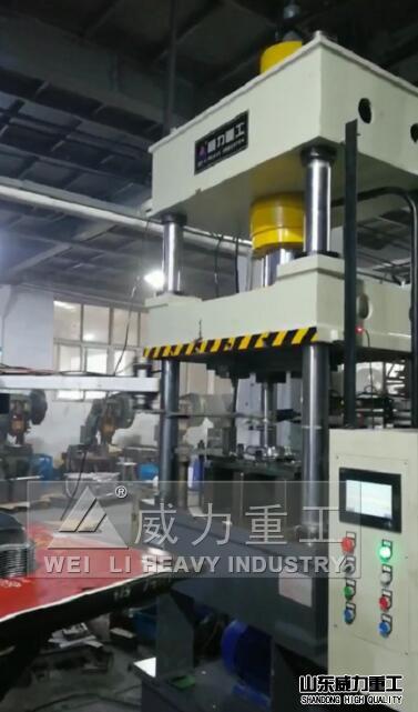 100吨不锈钢餐盘液压机