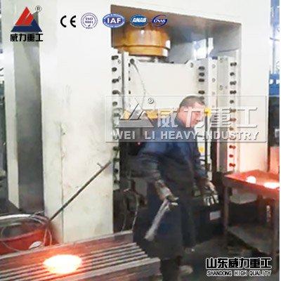 锻压设备:500吨框架式液压