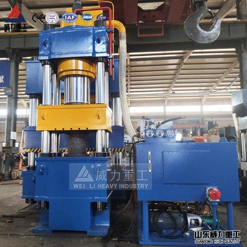热压塑料模壳800吨液压机