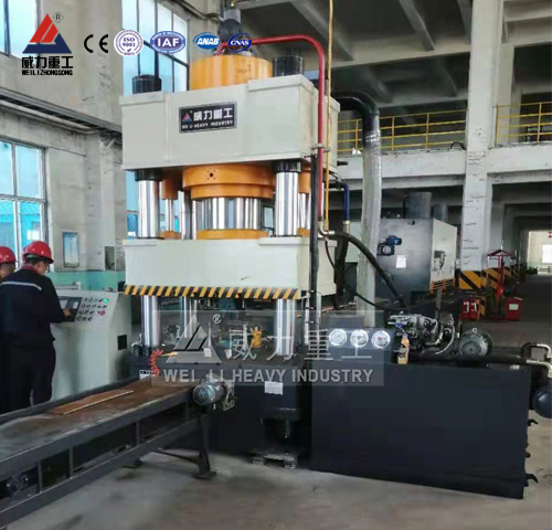 冲压矿用锚杆托盘500吨液压机