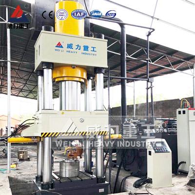 三工位1000吨液压机用于长