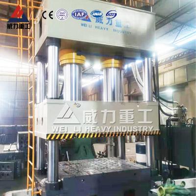 800吨液压机带液压垫拉伸机型