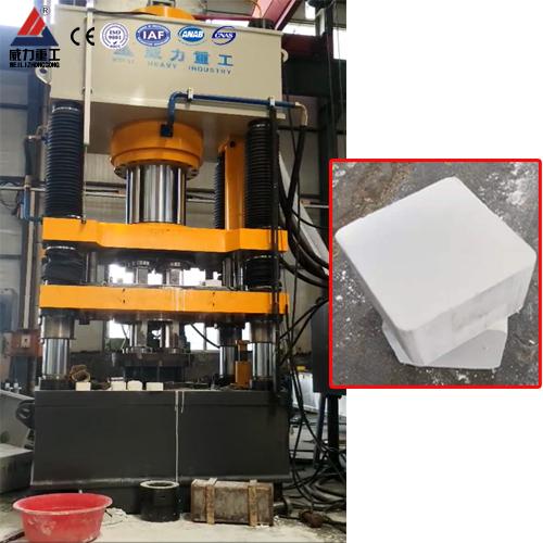 500吨氧化锆陶瓷制品成型液压机