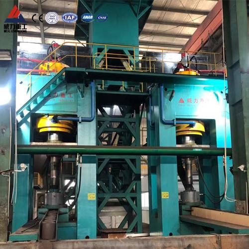 热压粒子钢设备-1600吨四柱液压机